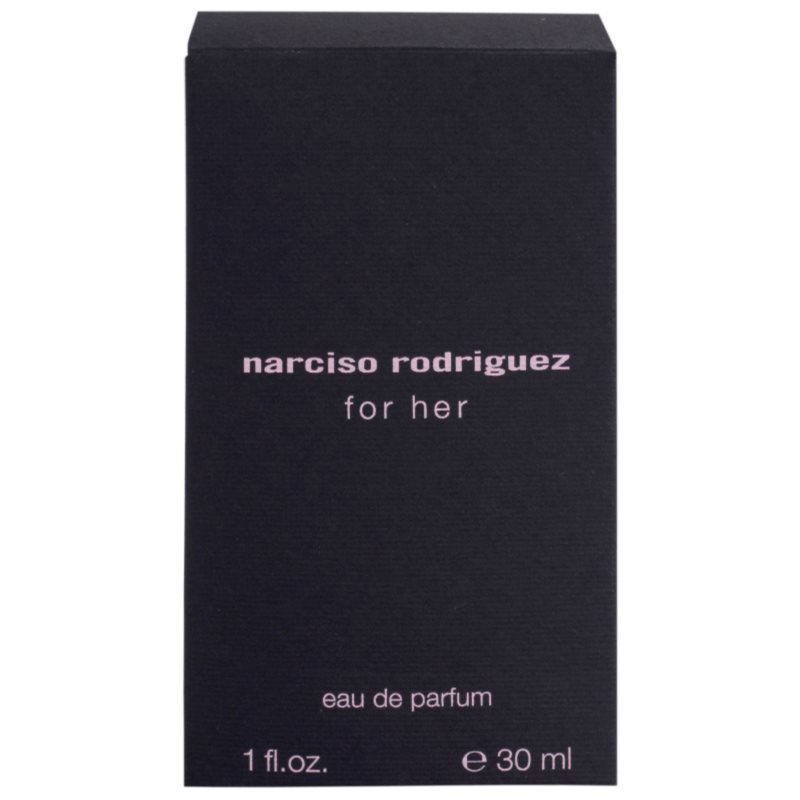 narciso rodriguez for her eau de parfum para mujer 30 ml. Black Bedroom Furniture Sets. Home Design Ideas