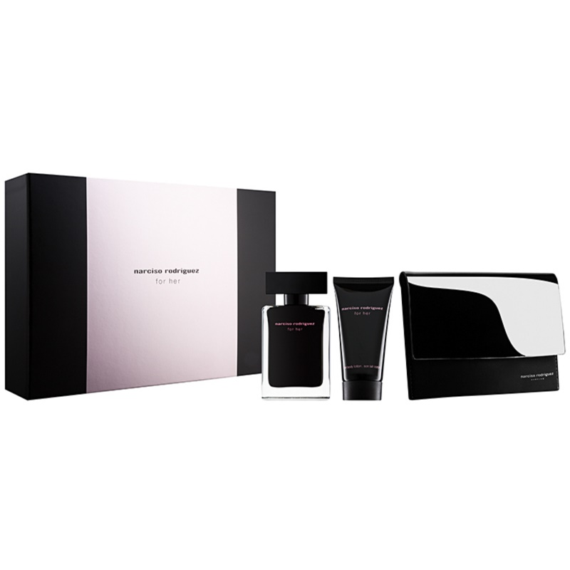 narciso rodriguez for her gift set xxii. Black Bedroom Furniture Sets. Home Design Ideas