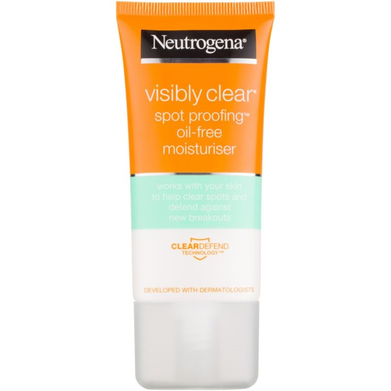 neutrogena visibly clear spot proofing cr me hydratante non huileuse. Black Bedroom Furniture Sets. Home Design Ideas