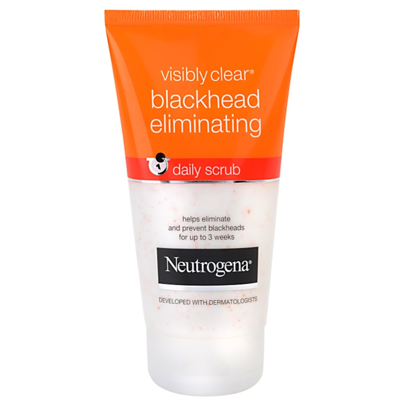 neutrogena visibly clear blackhead eliminating peeling