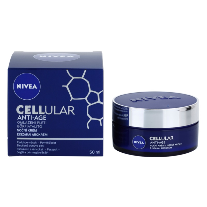nivea cellular anti age rejuvenating night cream. Black Bedroom Furniture Sets. Home Design Ideas