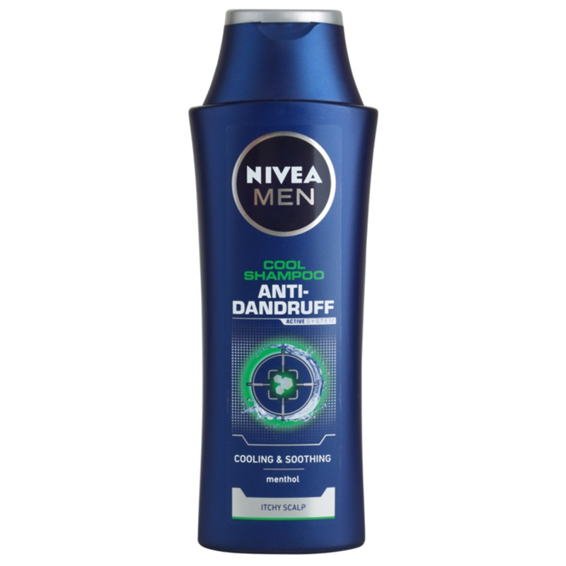 nivea cool shampoo gegen schuppen f r empfindliche kopfhaut. Black Bedroom Furniture Sets. Home Design Ideas
