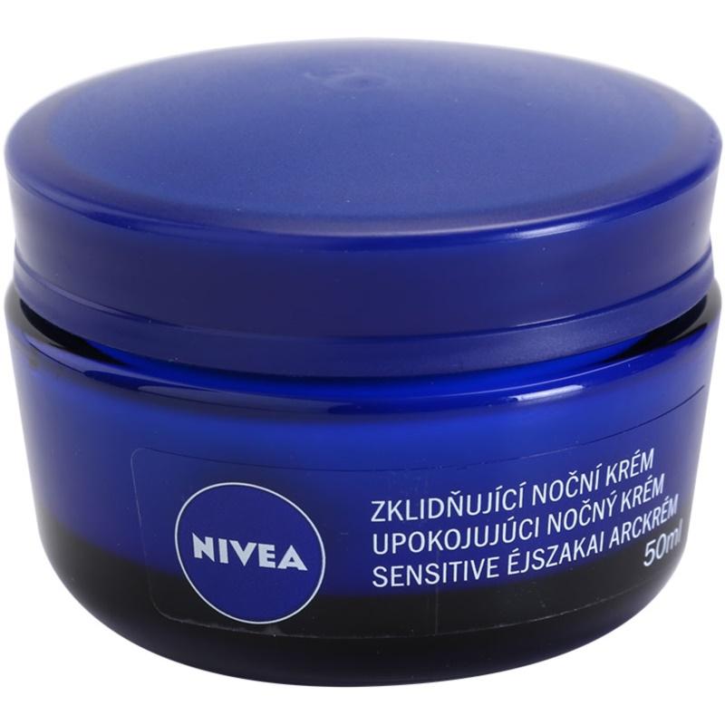 NIVEA FACE Soothing Night Cream For Sensitive Skin ...