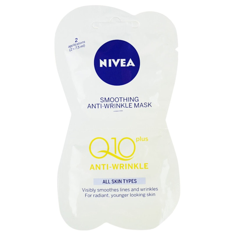 nivea visage q10 plus masque lissant anti rides. Black Bedroom Furniture Sets. Home Design Ideas