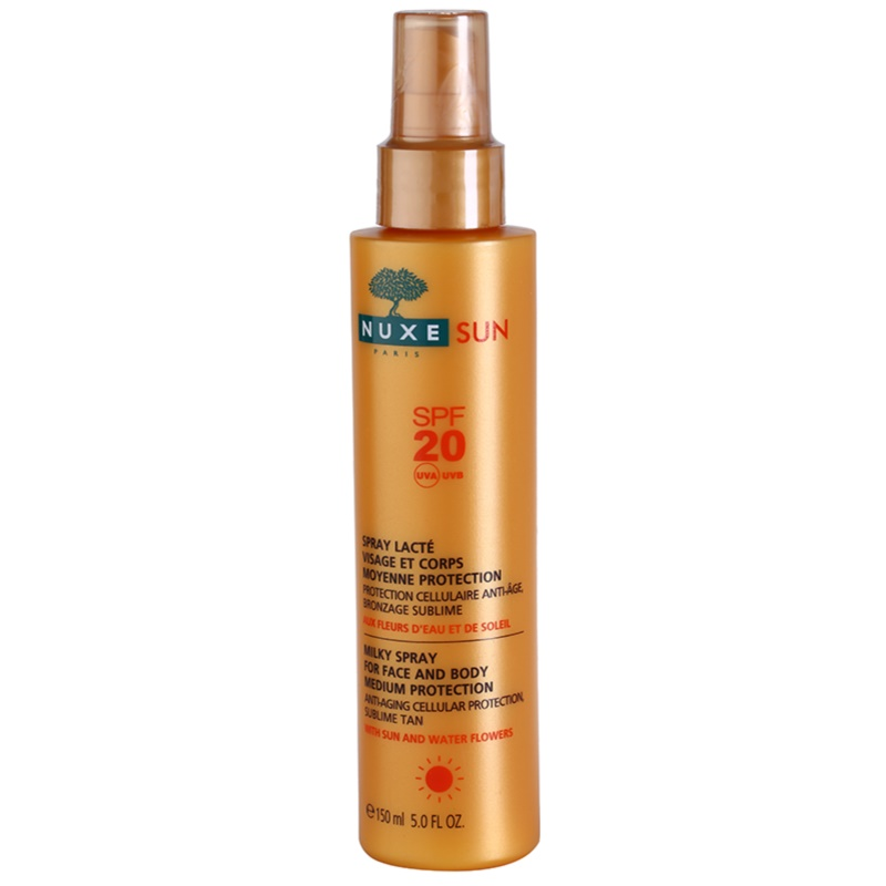 NUXE SUN spray solaire SPF 20 | notino.fr