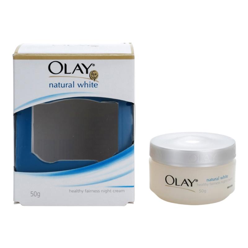 Olay Natural White Illuminating Night Cream 50 g. Illuminating Night Cream. This item is currently unavailable. 50 g. Beauty Code: OLA0232