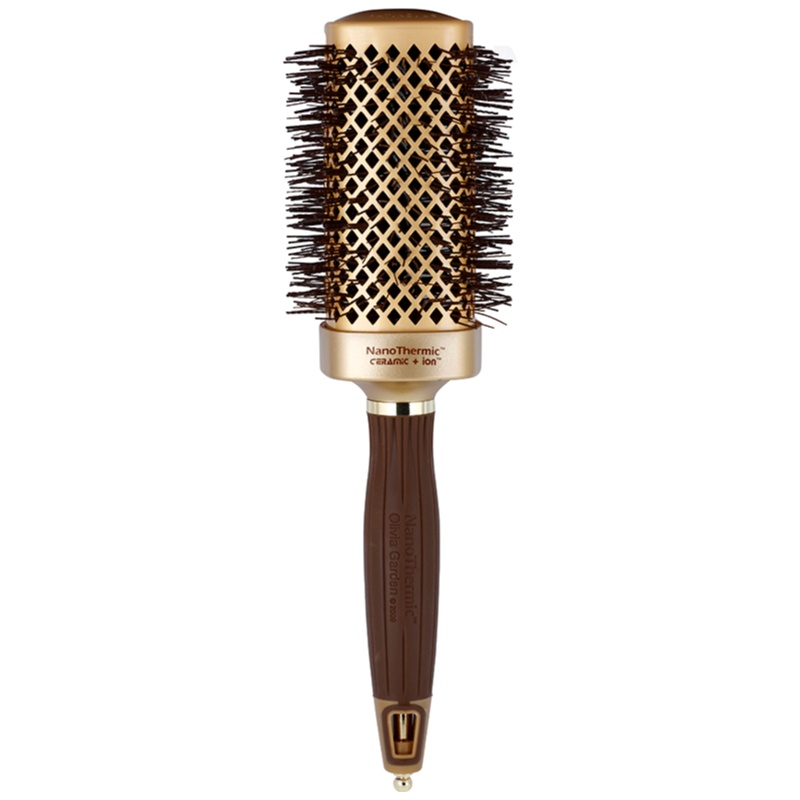 Olivia garden nanothermic ceramic ion shaper hair brush Olivia garden nanothermic brush
