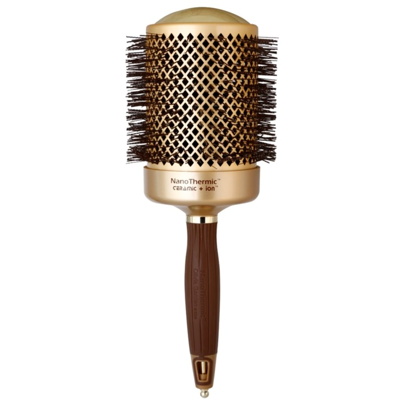 Olivia garden nanothermic ceramic ion hair brush Olivia garden nanothermic brush