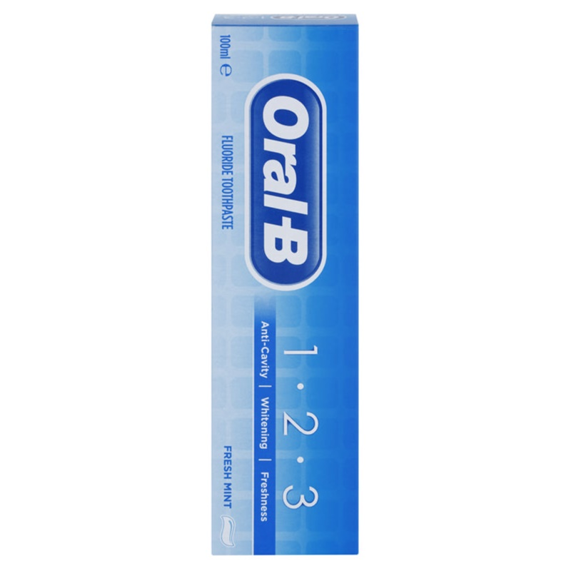 oral b 1 2 3 toothpaste with fluoride. Black Bedroom Furniture Sets. Home Design Ideas