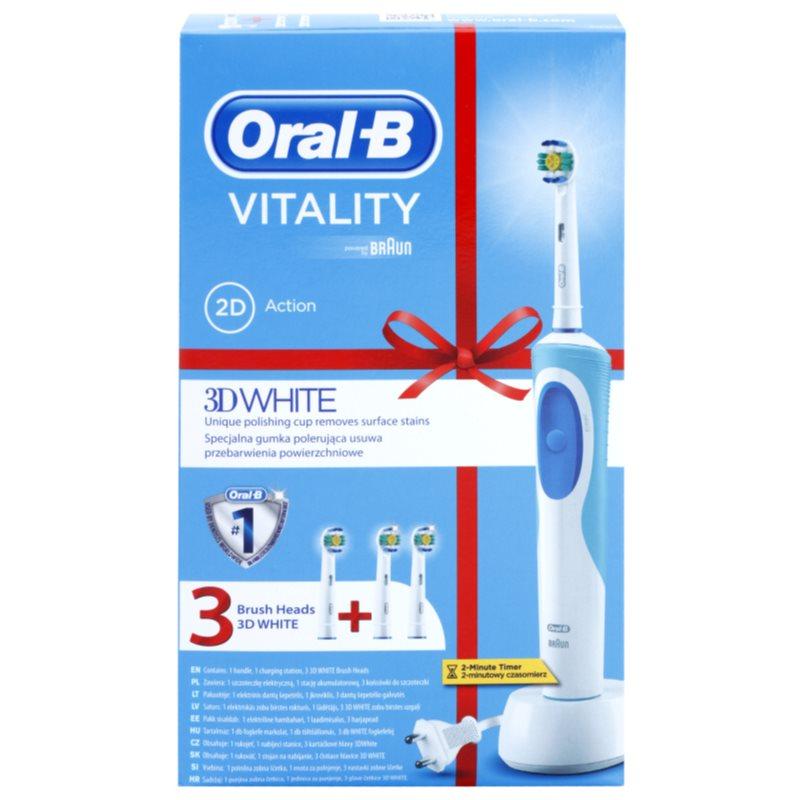 oral b vitality 3d white brosse dents. Black Bedroom Furniture Sets. Home Design Ideas