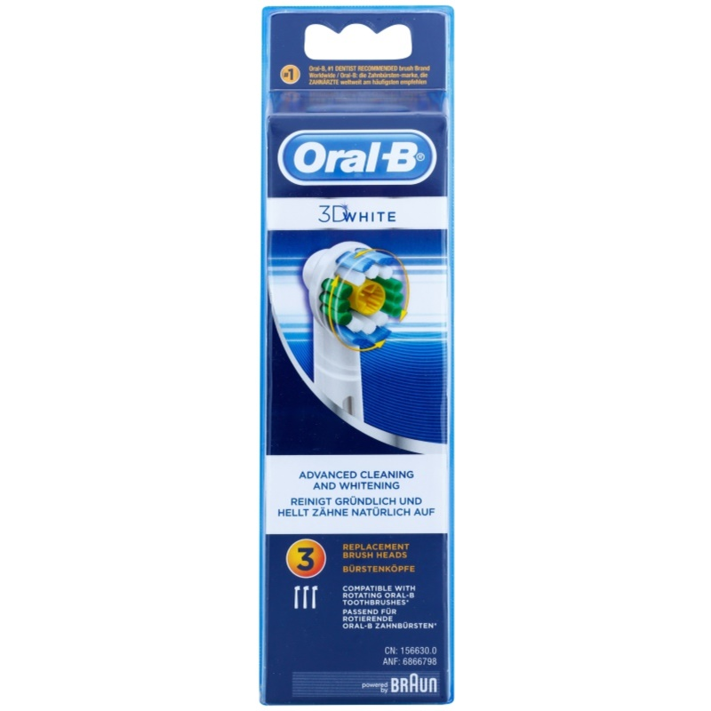 oral b 3d white eb 18 recambio para cepillo de dientes. Black Bedroom Furniture Sets. Home Design Ideas