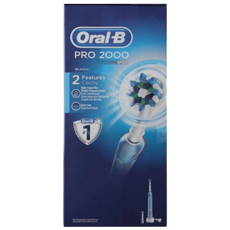 oral b pro 2000 electric toothbrush. Black Bedroom Furniture Sets. Home Design Ideas