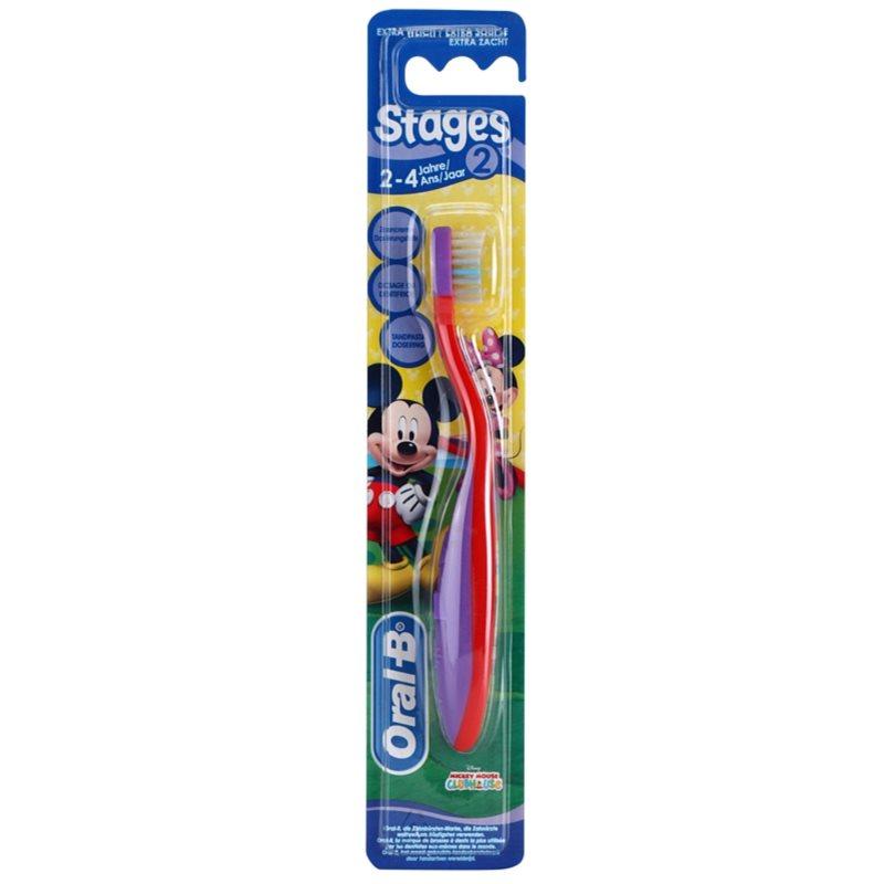 oral b stages 2 cepillo de dientes para ni os extra suave. Black Bedroom Furniture Sets. Home Design Ideas