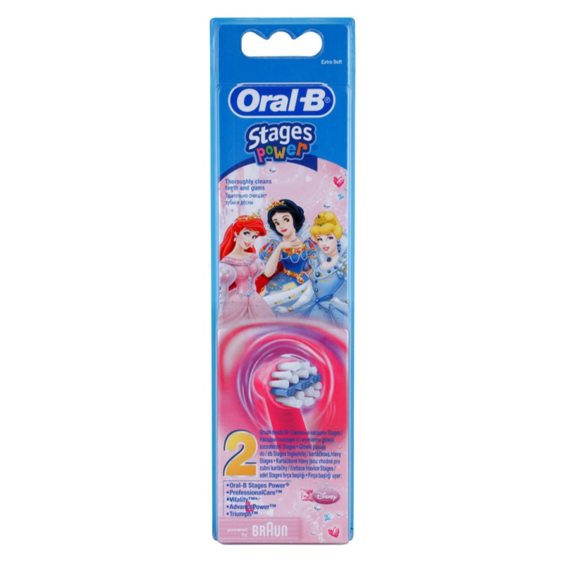 oral b stages power eb10 princess capete de schimb pentru periuta de dinti foarte moale. Black Bedroom Furniture Sets. Home Design Ideas