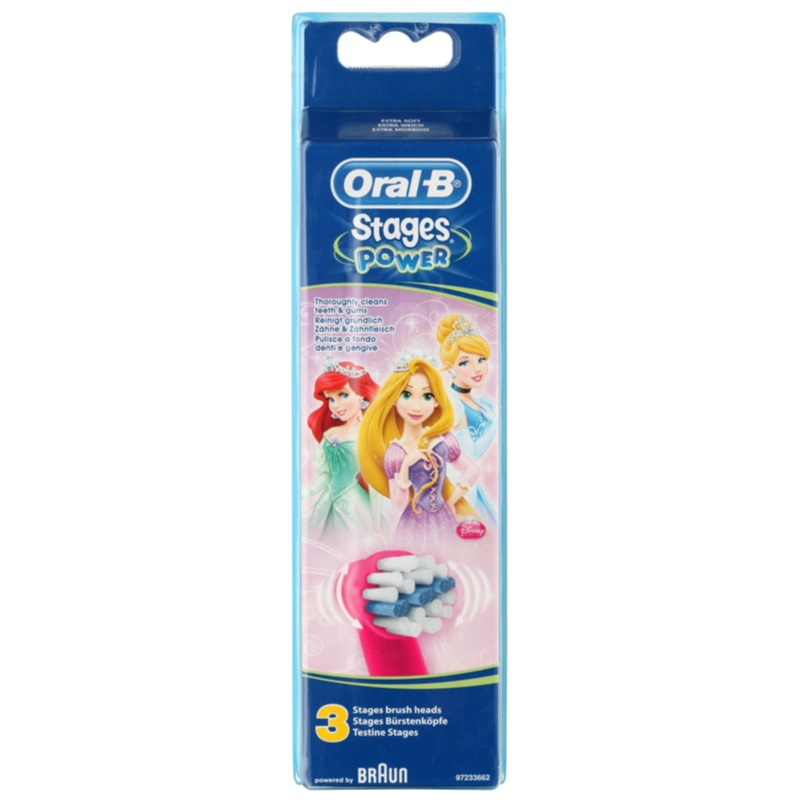 oral b stages power eb10 princess replacement heads for. Black Bedroom Furniture Sets. Home Design Ideas