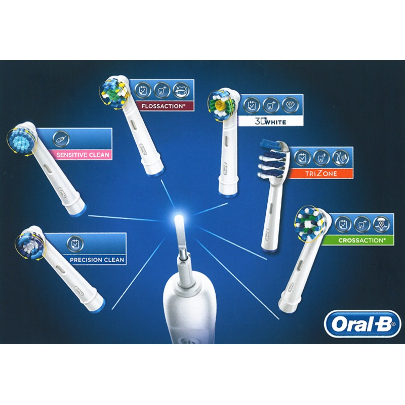 oral b cross action eb 50 t te de rechange. Black Bedroom Furniture Sets. Home Design Ideas