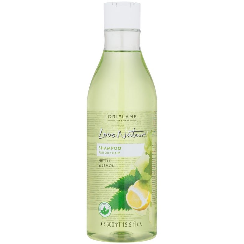 Oriflame Love Nature Shampoo For Oily Hair Notino Co Uk