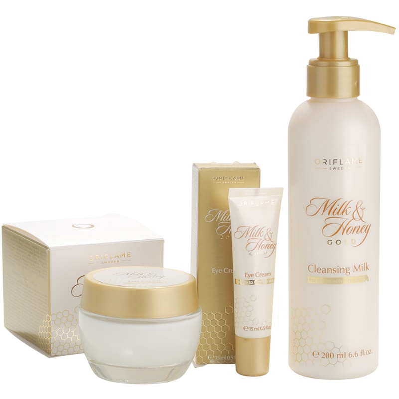 ORIFLAME MILK & HONEY GOLD Cosmetic Set I.