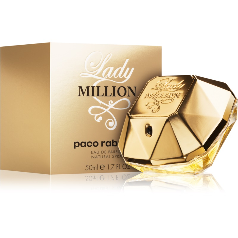 paco rabanne lady million eau de parfum f252r damen 80 ml