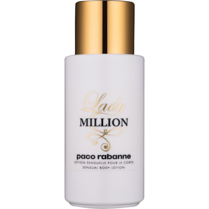paco rabanne lady million body lotion for women 200 ml. Black Bedroom Furniture Sets. Home Design Ideas