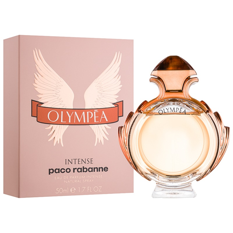 paco rabanne olympea intense eau de parfum pour femme 50 ml. Black Bedroom Furniture Sets. Home Design Ideas