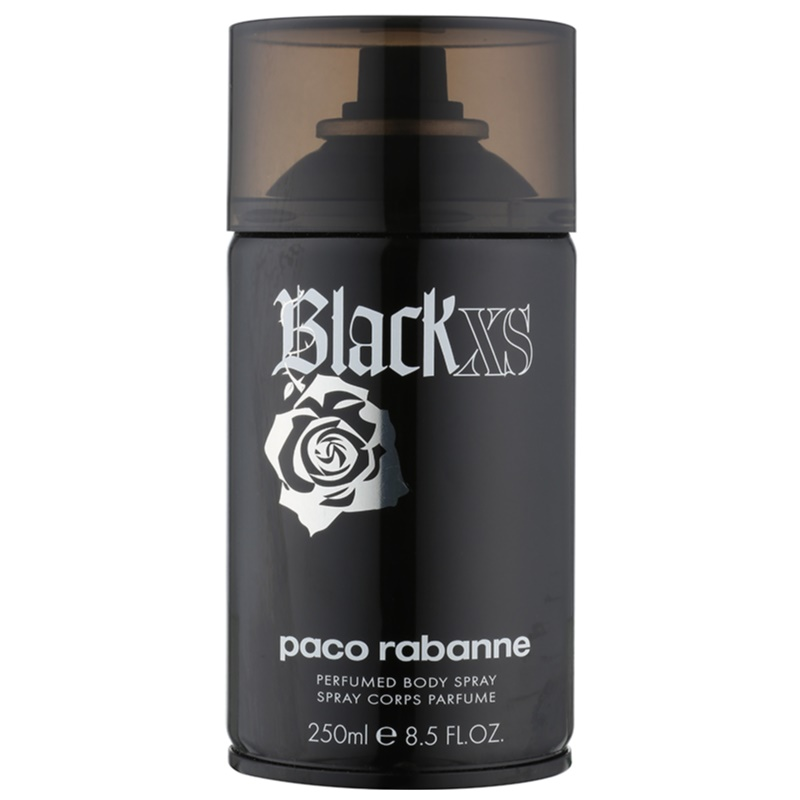 paco rabanne black xs spray corporel pour homme 250 ml. Black Bedroom Furniture Sets. Home Design Ideas