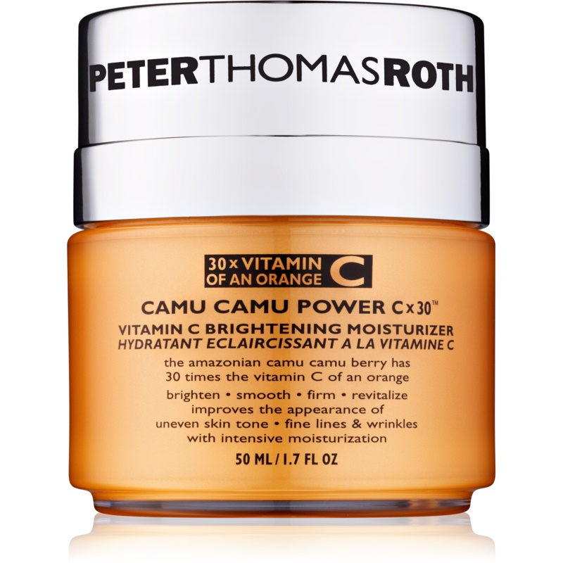 peter thomas roth camu camu power c x 30 cr me hydratante clat la vitamine c. Black Bedroom Furniture Sets. Home Design Ideas