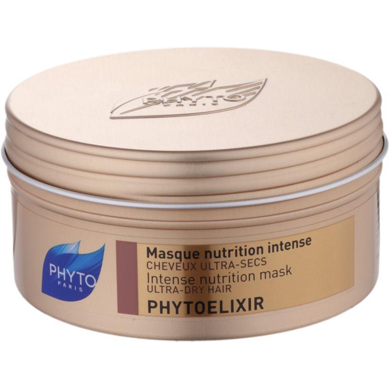 phyto phytoelixir masque nourrissant intense pour cheveux secs et poreux. Black Bedroom Furniture Sets. Home Design Ideas