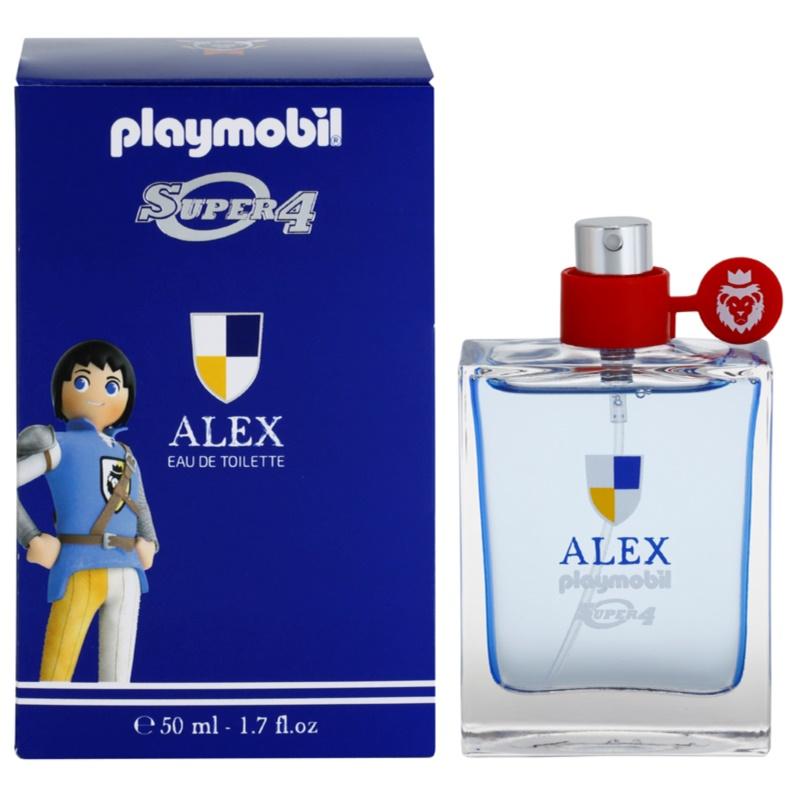 playmobil super4 alex eau de toilette f r kinder 50 ml. Black Bedroom Furniture Sets. Home Design Ideas