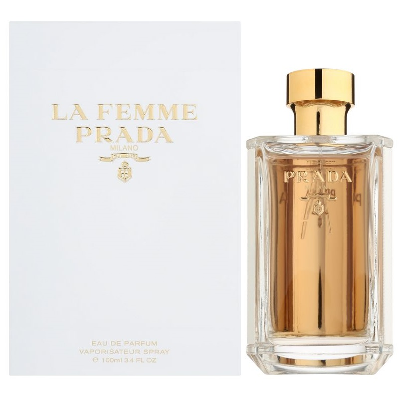 prada la femme eau de parfum f r damen 100 ml. Black Bedroom Furniture Sets. Home Design Ideas