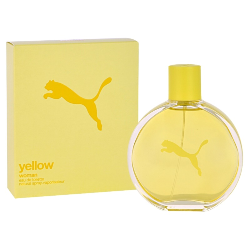 puma parfum damen yellow