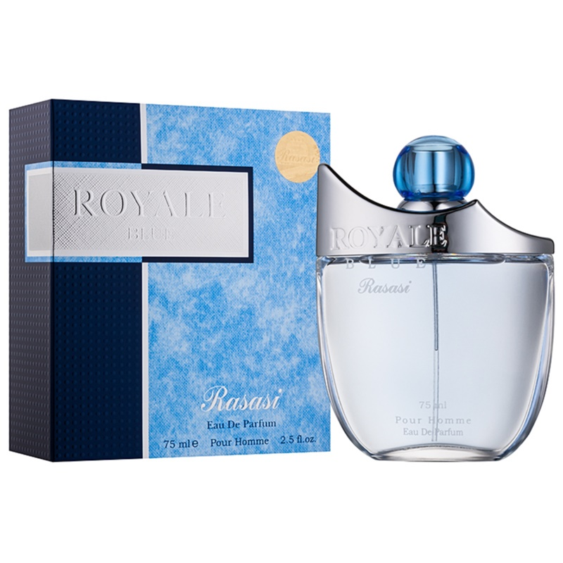 rasasi royale blue eau de parfum pour homme 75 ml. Black Bedroom Furniture Sets. Home Design Ideas