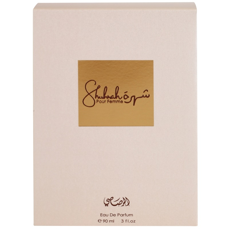 rasasi shuhrah pour femme eau de parfum f r damen 90 ml. Black Bedroom Furniture Sets. Home Design Ideas