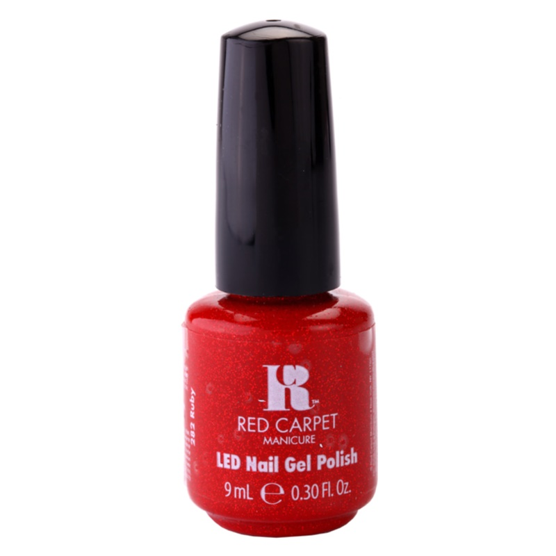 RED CARPET LED Gel Nail Polish With Glitter