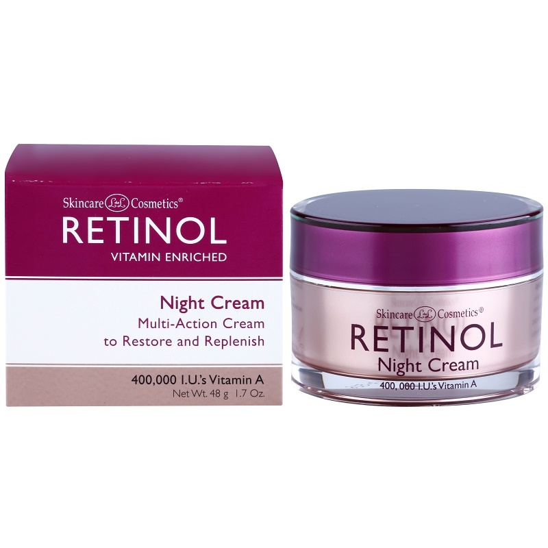retinol anti aging filling night cream anti aging. Black Bedroom Furniture Sets. Home Design Ideas