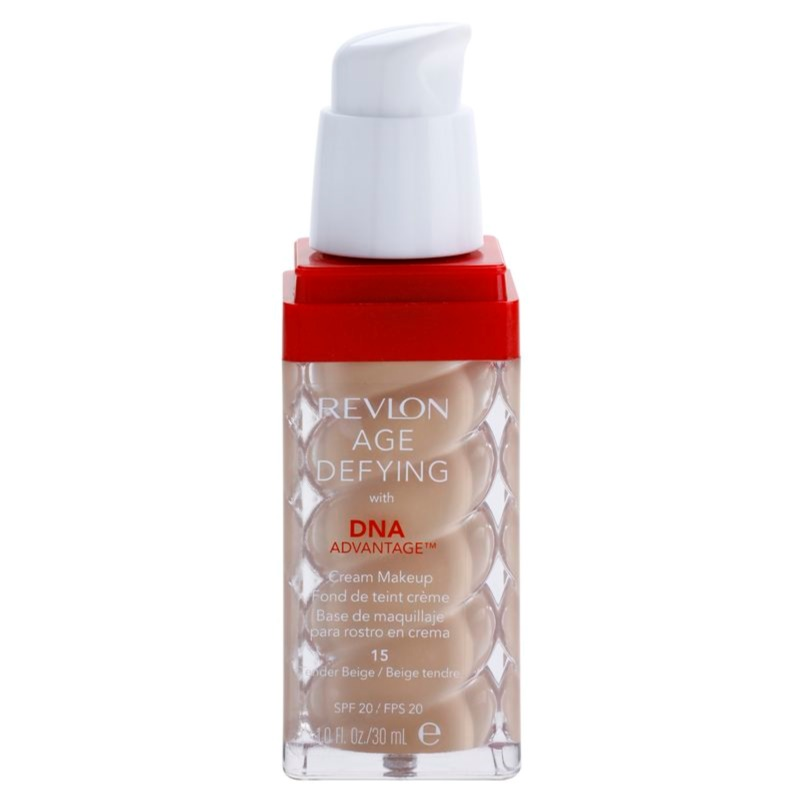 REVLON COSMETICS AGE DEFYING Anti-Wrinkle Foundation SPF ...