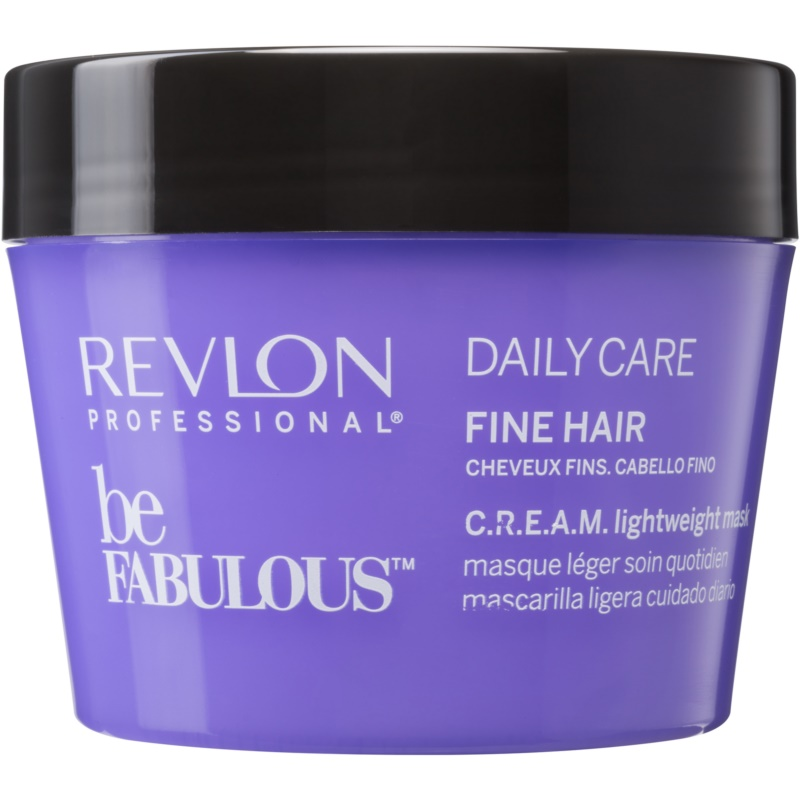 revlon professional be fabulous daily care masque hydratant r g n rant pour cheveux fins. Black Bedroom Furniture Sets. Home Design Ideas