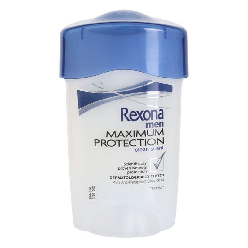 rexona maximum protection clean scent anti transpirant. Black Bedroom Furniture Sets. Home Design Ideas