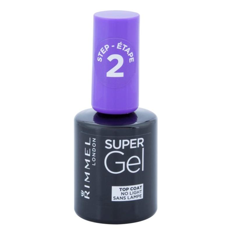 Rimmel Super Gel Step 2, esmalte de uñas capa superior con brillo ...