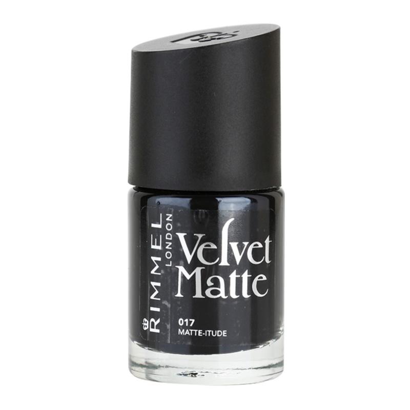 RIMMEL VELVET MATTE esmalte de uñas matificante | notino.es