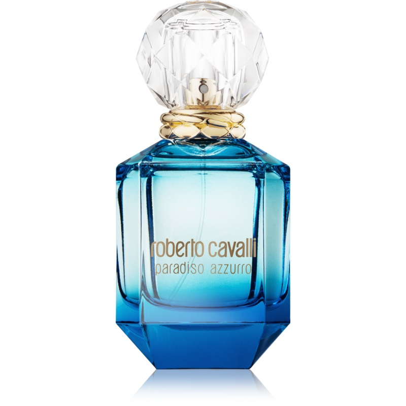 roberto cavalli paradiso azzurro eau de parfum f r damen 75 ml. Black Bedroom Furniture Sets. Home Design Ideas