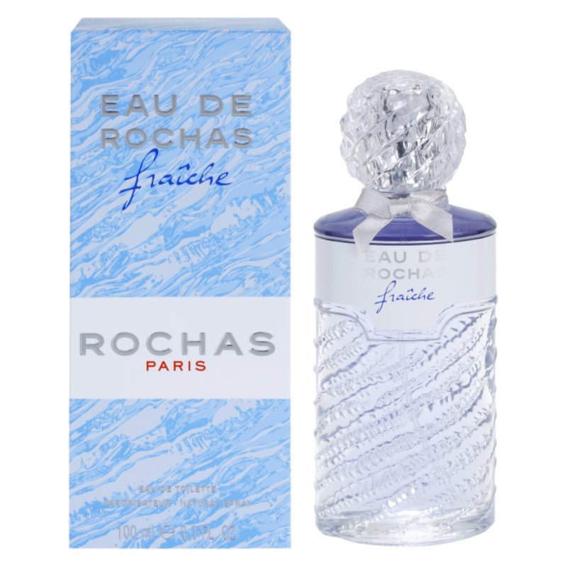 rochas eau de rochas fraiche eau de toilette pour femme 100 ml. Black Bedroom Furniture Sets. Home Design Ideas