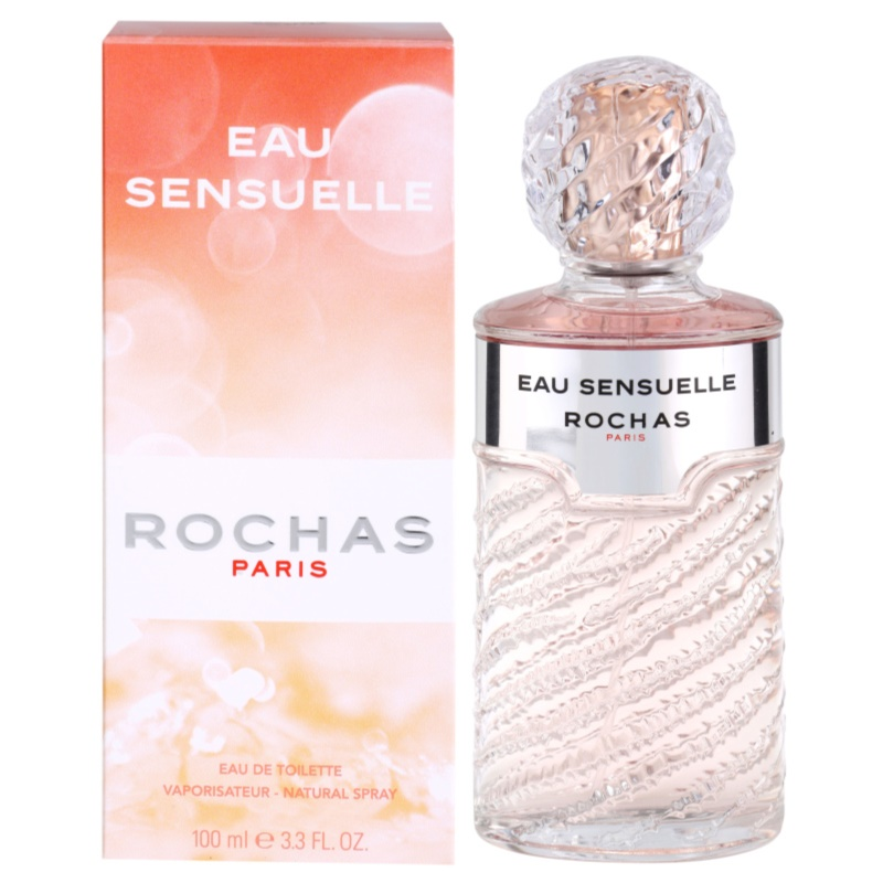 rochas eau sensuelle eau de toilette pour femme 100 ml. Black Bedroom Furniture Sets. Home Design Ideas