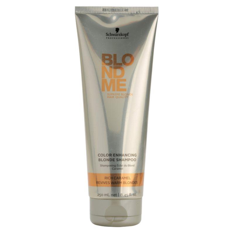 schwarzkopf professional blondme st rkendes shampoo f r warme blondt ne. Black Bedroom Furniture Sets. Home Design Ideas