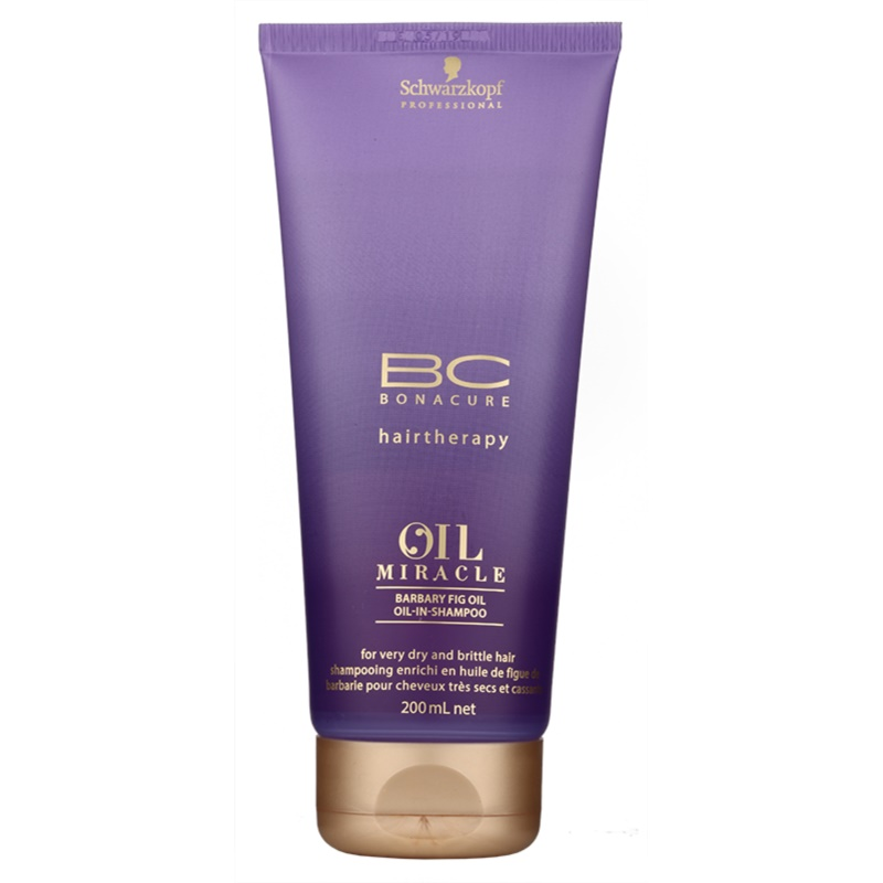 schwarzkopf professional bc bonacure oil miracle barbary fig oil shampoing r novateur pour. Black Bedroom Furniture Sets. Home Design Ideas