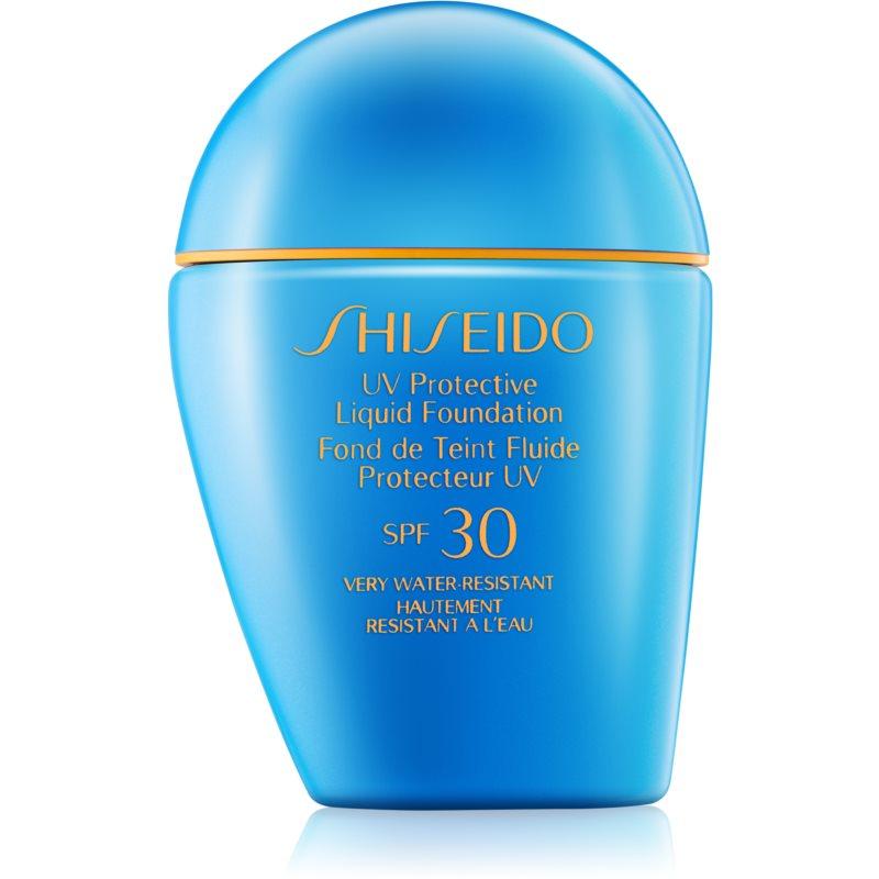 shiseido sun foundation fond de teint liquide waterproof spf 30. Black Bedroom Furniture Sets. Home Design Ideas