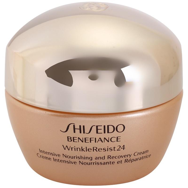 shiseido benefiance wrinkleresist24 intezivna hranilna krema proti gubam. Black Bedroom Furniture Sets. Home Design Ideas