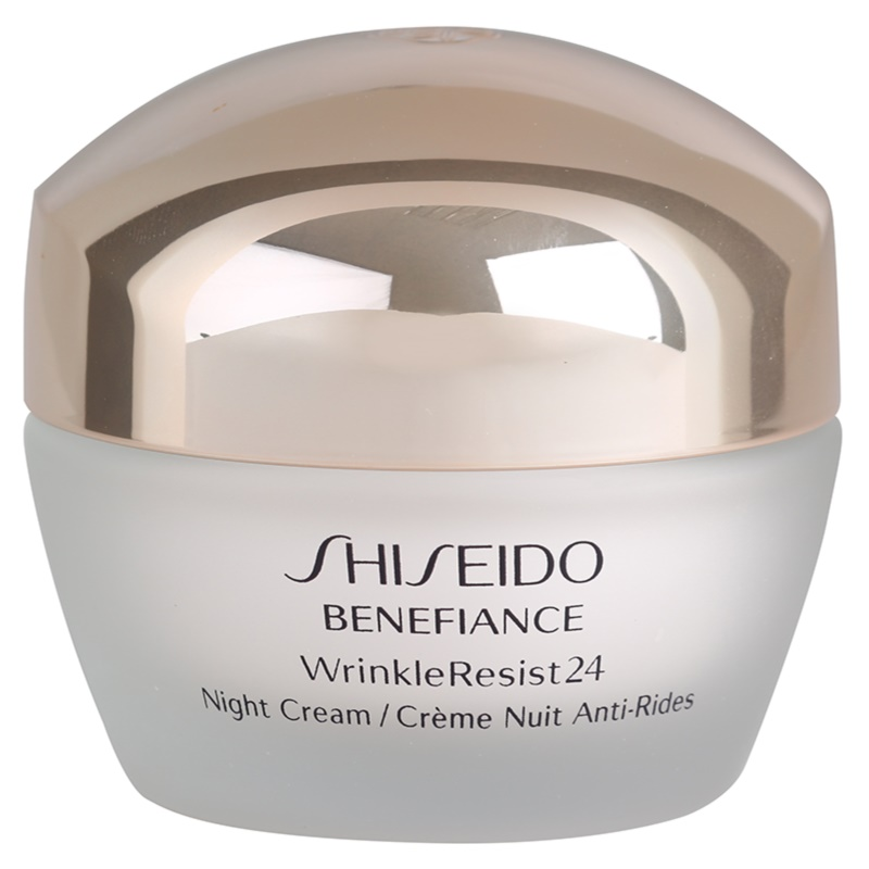 shiseido benefiance wrinkleresist24 cr me de nuit hydratante anti rides. Black Bedroom Furniture Sets. Home Design Ideas