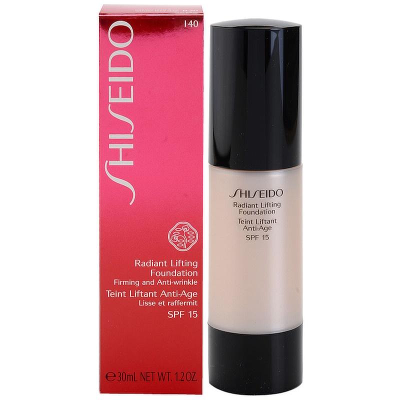 shiseido base radiant lifting lifting make up f r strahlende haut lsf 15. Black Bedroom Furniture Sets. Home Design Ideas