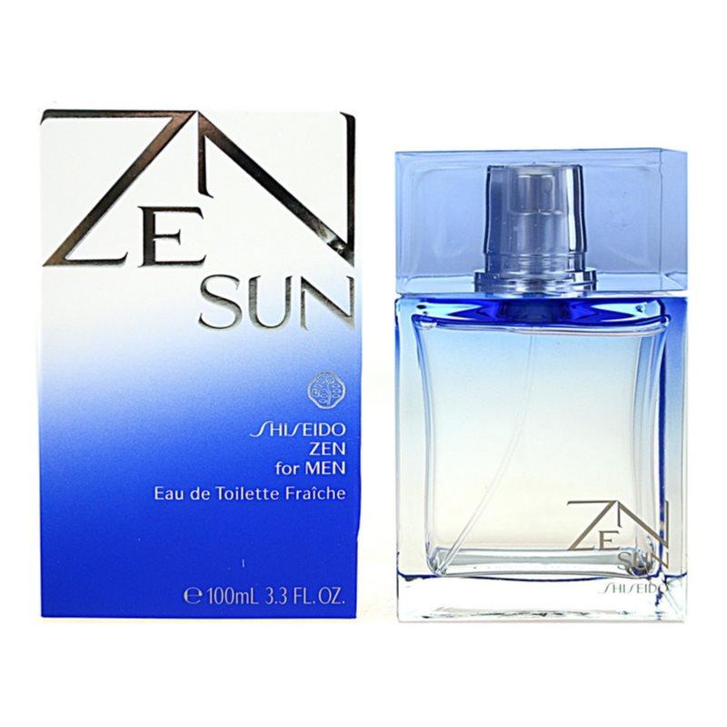 shiseido zen sun for men eau de toilette for men 100 ml. Black Bedroom Furniture Sets. Home Design Ideas